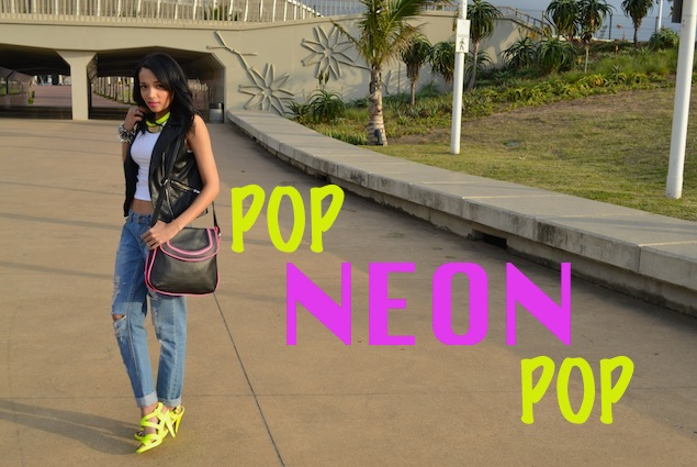 Popping NEON OOTD