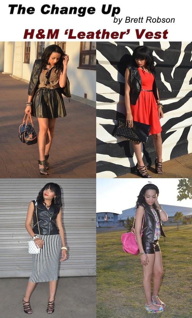 The Change Up: H&M 'Leather' Vest
