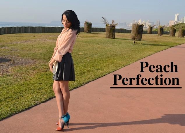 Peach Perfection {OOTD}