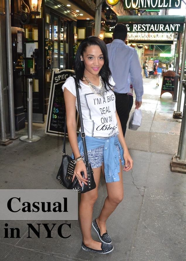 Casual in NYC {OOTD}