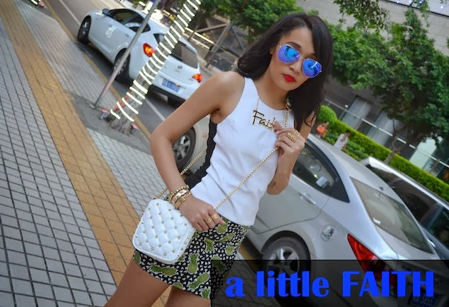 FAITH & Pineapples {OOTD} from China