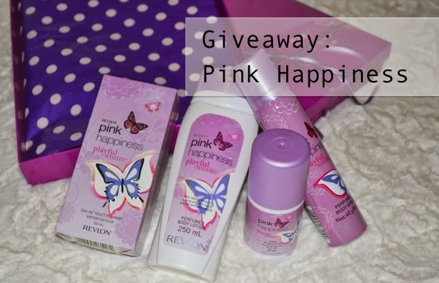 GIVEAWAY: Pink Happiness