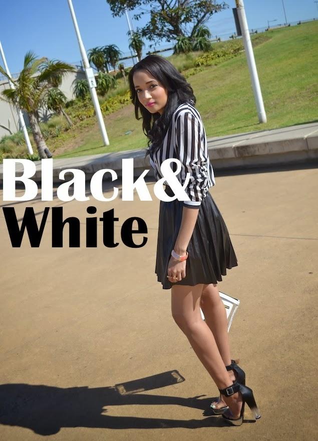 Black & White {Monochrome Monday OOTD}