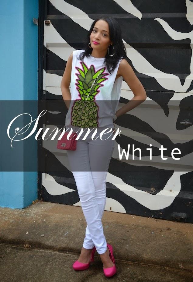 Summer White {OOTD}