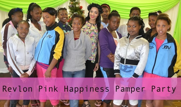 REVLON Pink Happiness Pamper Party {Charity Event}