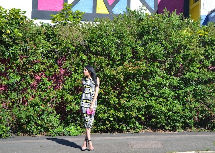 The Printed Dress {OOTD}