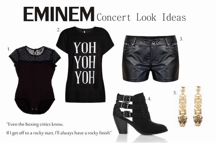 EMINEM Concert Outfit Ideas & a little TMI