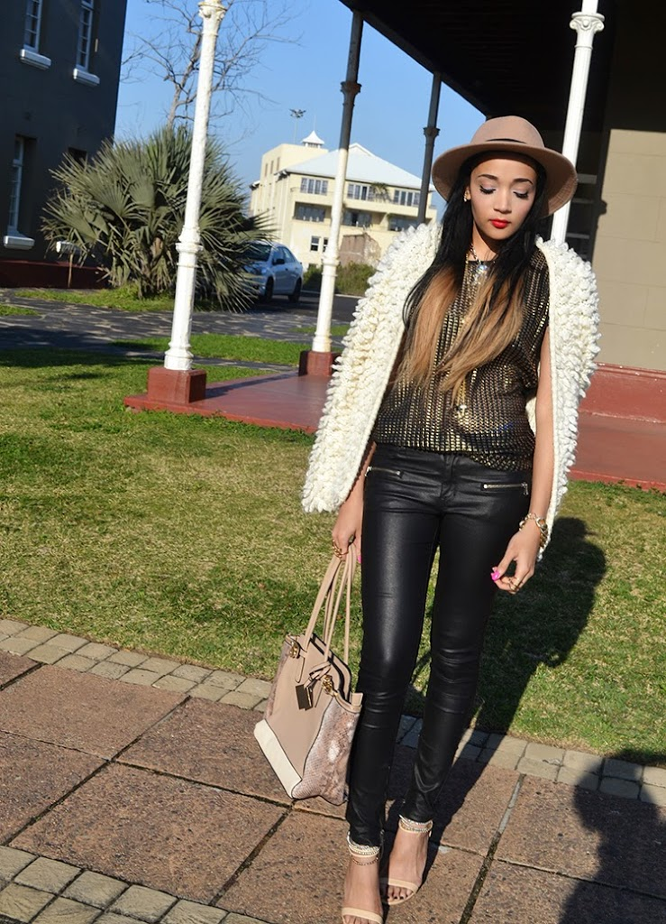 Going GOLD {OOTD}