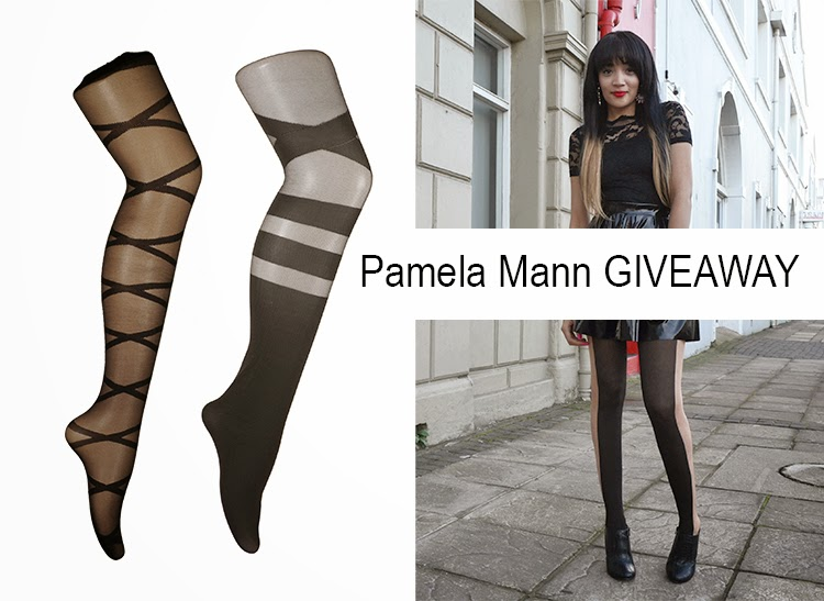 All Black OOTD + Pamela Mann Tights GIVEAWAY