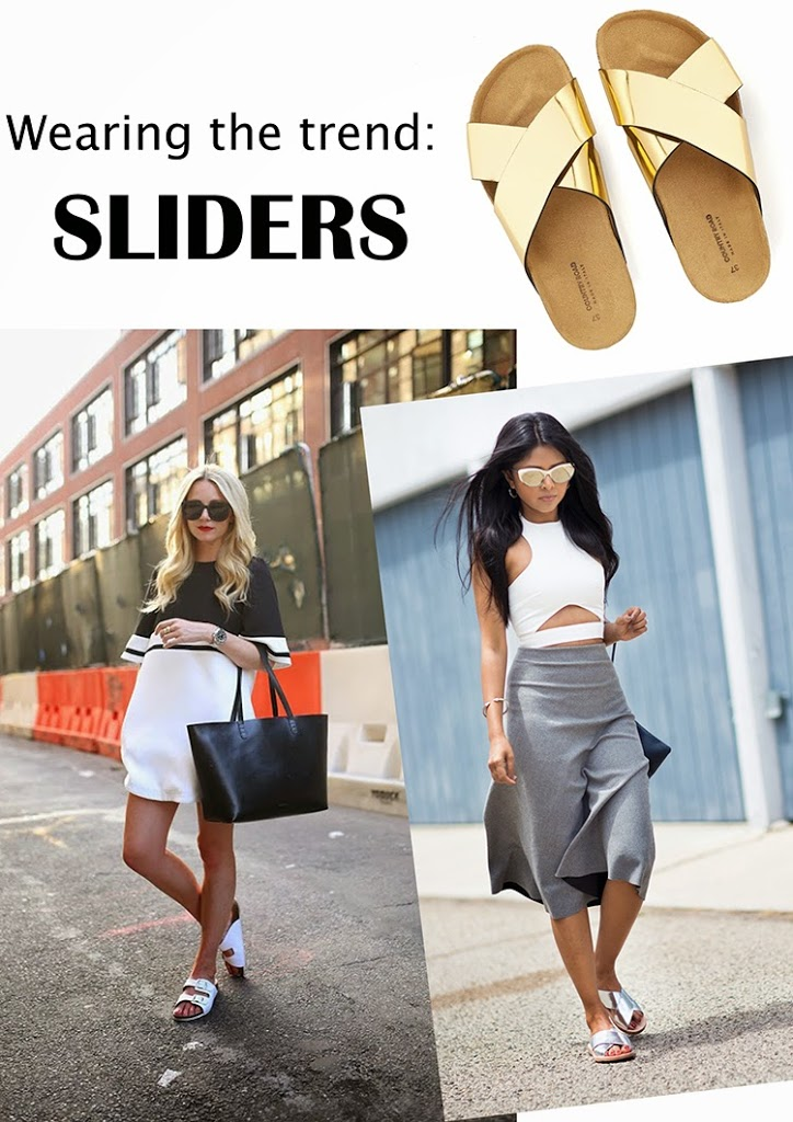 SLIDERS: How to wear them. Where to shop them. What I think of them.