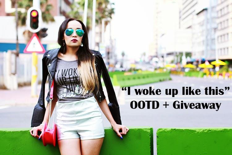 """I Woke Up Like This"" {Giveaway + OOTD}"