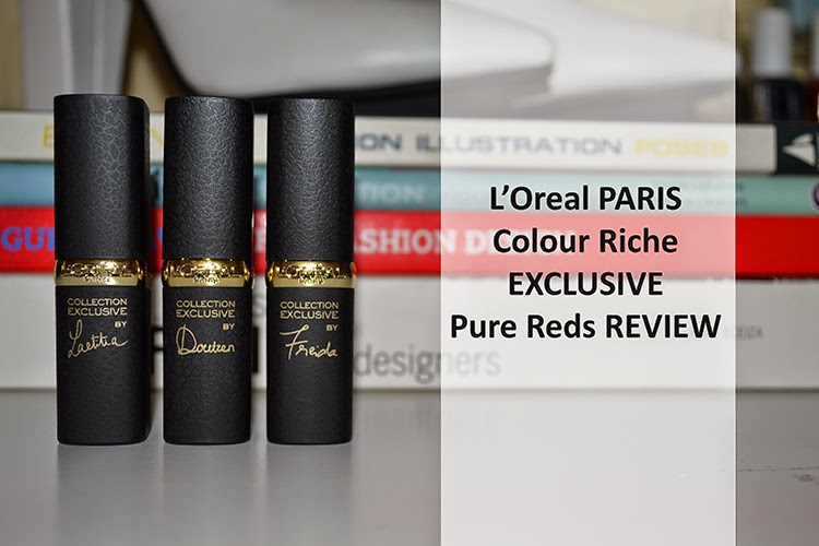 L'Oreal Colour Riche Exclusive Pure Reds {Beauty Review}