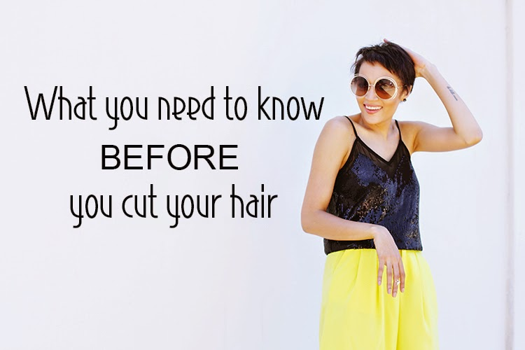 What you need to know before you cut your hair {My Hair Story}