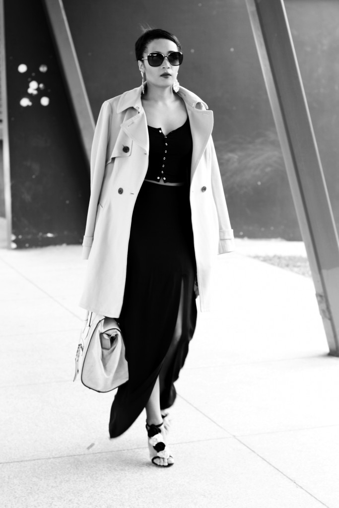 Fashion bloggger Brett Robson wearing camel coat 11