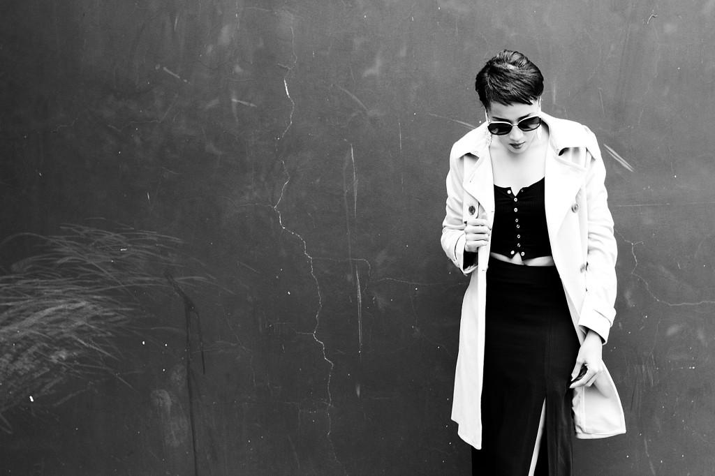 Fashion bloggger Brett Robson wearing camel coat 5