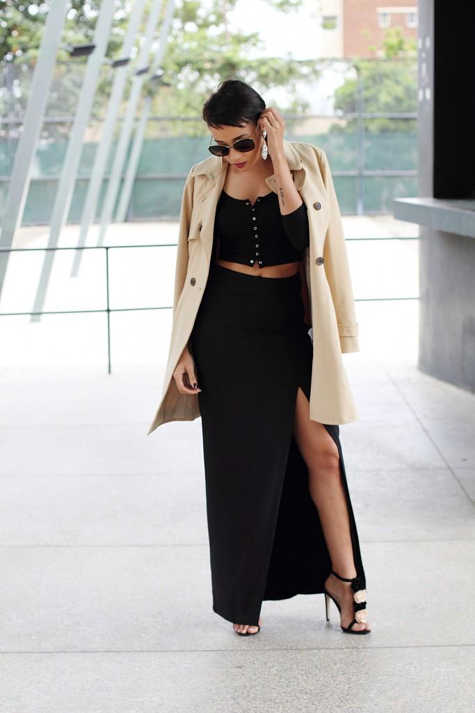 Fashion bloggger Brett Robson wearing camel coat 6