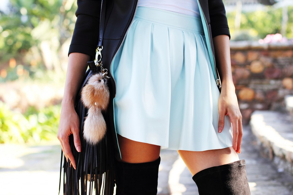Fashion blogger thigh high boots style 22
