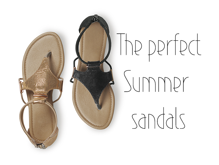 The perfect Summer sandals at JET