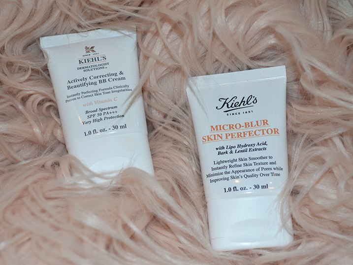 KIEHL'S Correcting BB Cream + KIEHL'S Micro-Blur Skin Perfector Review {Beauty}
