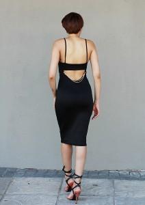 Black Dress CC6536B 11