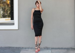 Black Dress CC6536B 13