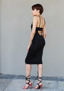 Black Dress CC6536B 2