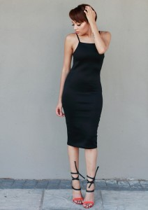 Black Dress CC6536B 3