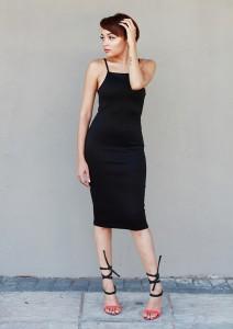 Black Dress CC6536B 6