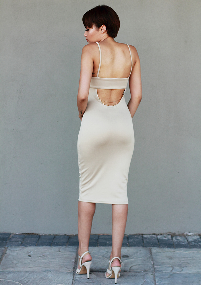 Nude Dress CC6536A 1