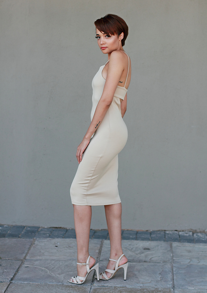 Nude Dress CC6536A 4
