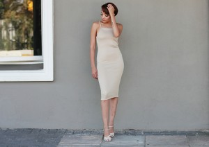 Nude Dress CC6536A 5