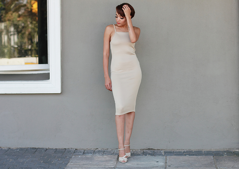 Nude Dress CC6536A 5