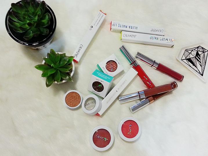ColourPOP Make-Up Haul + Giveaway {Beauty}