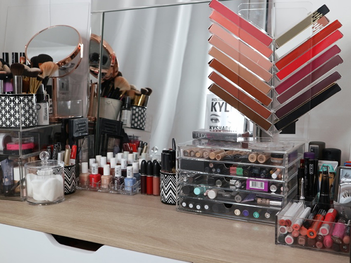 Make-Up Collection Organization / Storage | Beauty