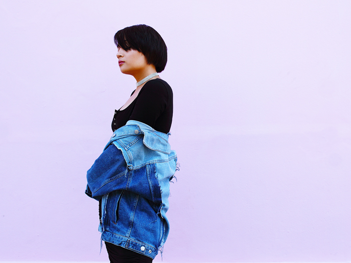 Denim MOTO Jacket | OOTD
