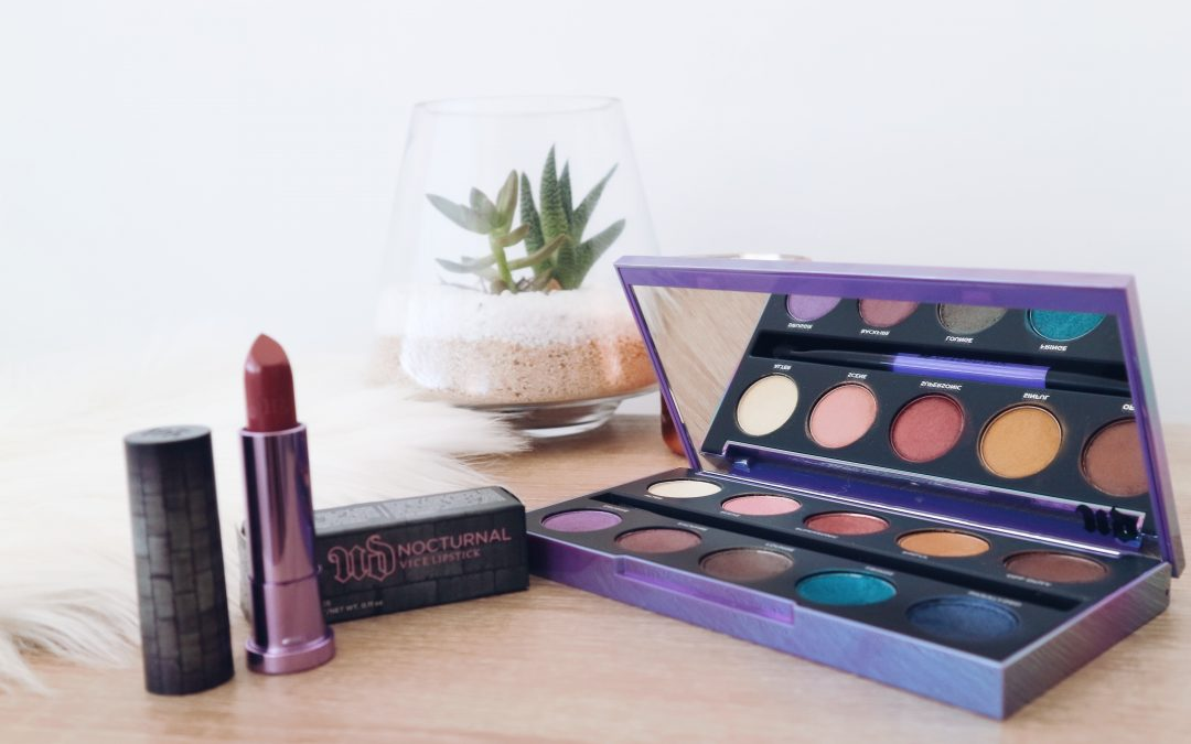 What's New from Urban Decay | Afterdark Eyeshadow Palette + Nocturnal Vice Lipstick
