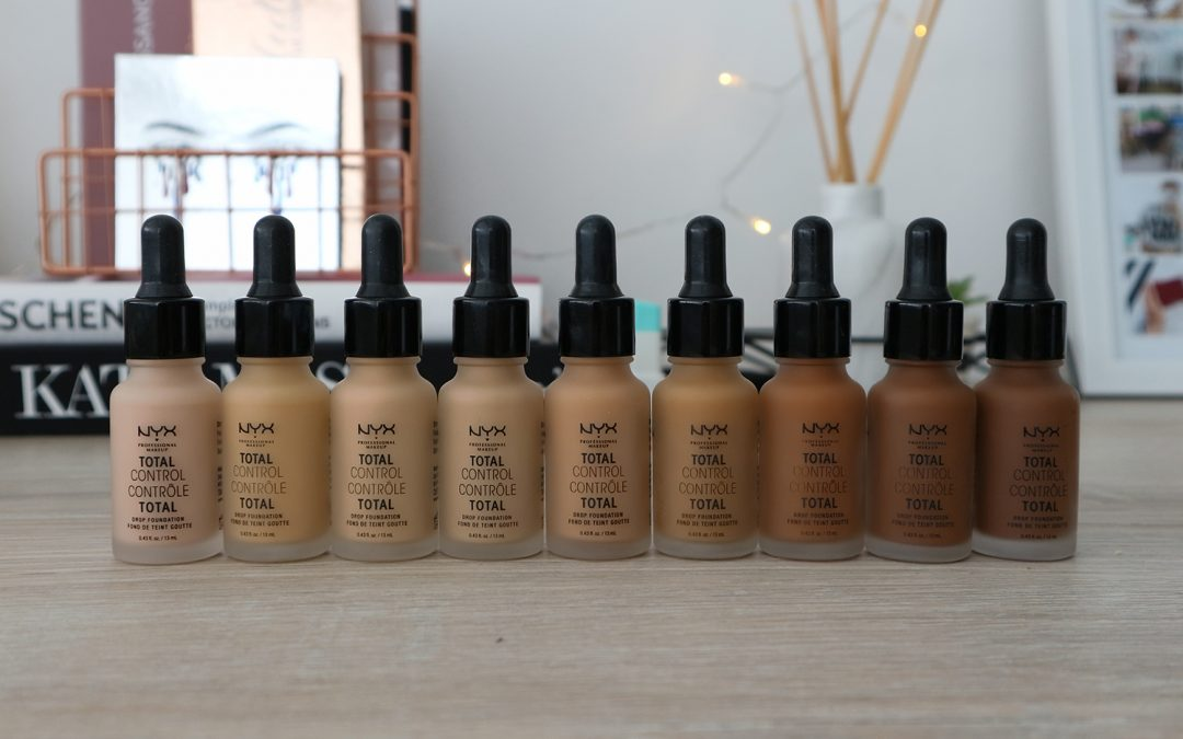NYX Total Control Drop Foundation Review & DEMO | BEAUTY