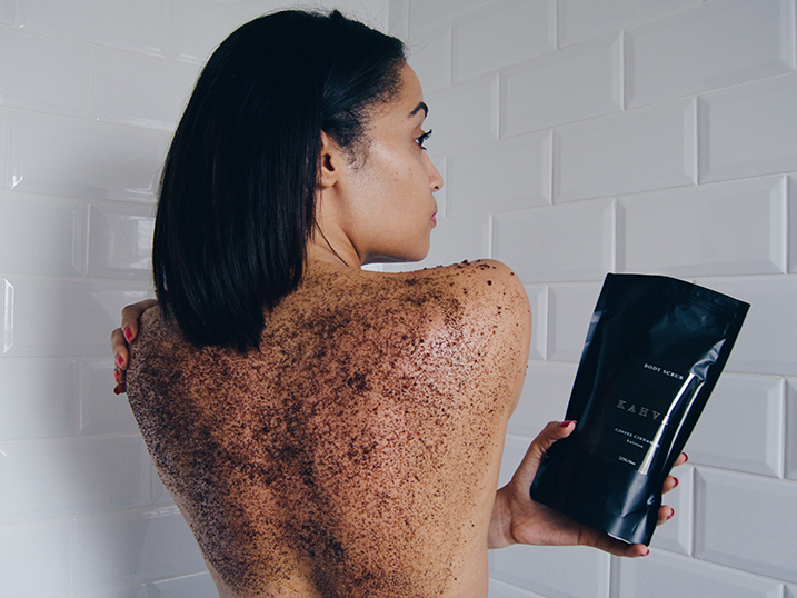 KAHVE SKIN COFFEE CINNAMON BODY SCRUB REVIEW | BEAUTY