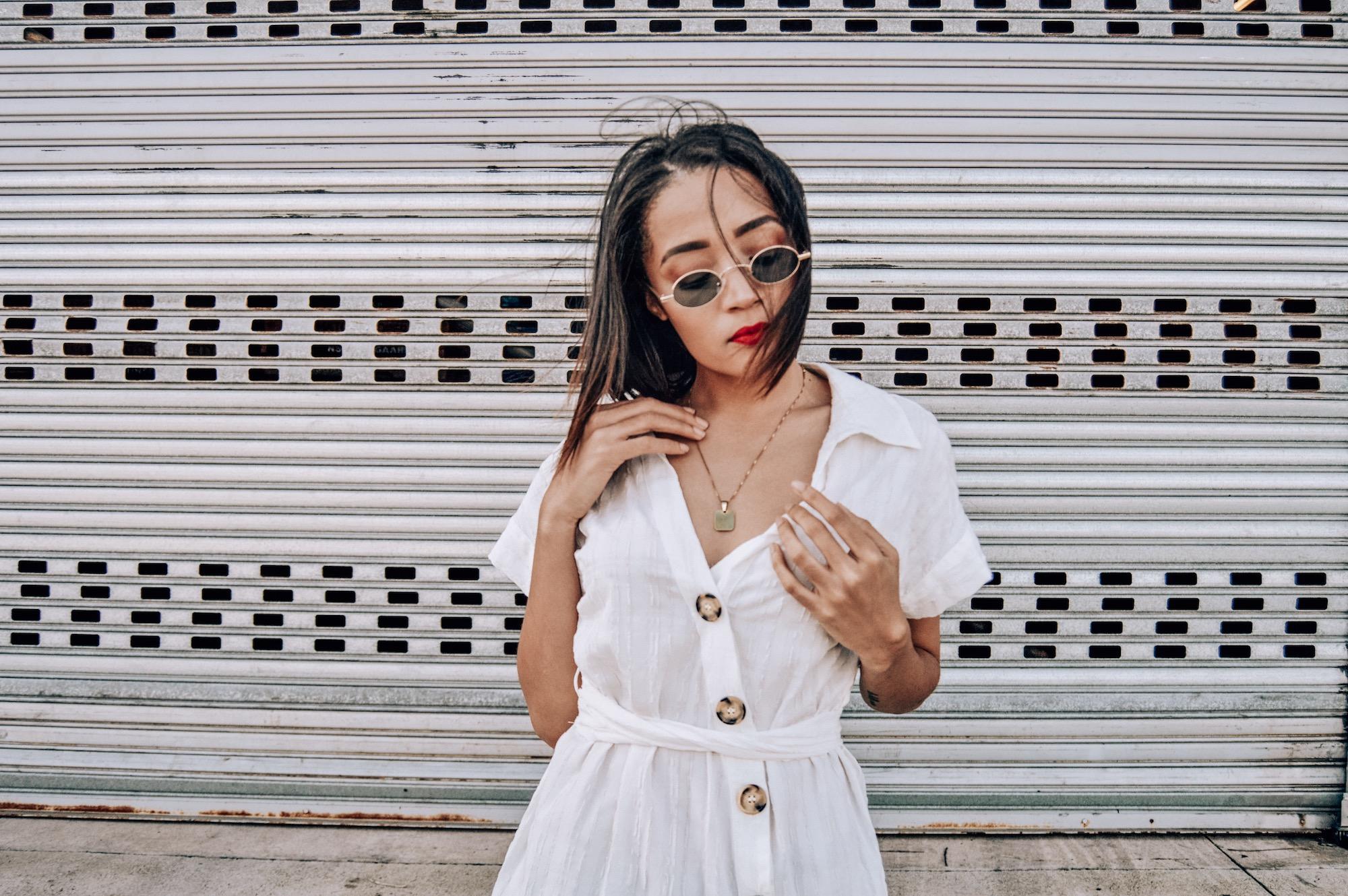 Layering A White Dress | Style