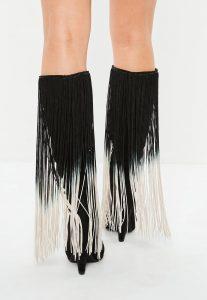 black-cone-heel-long-tassel-boots-2