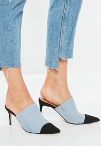 blue-toe-cap-pointed-heeled-mules
