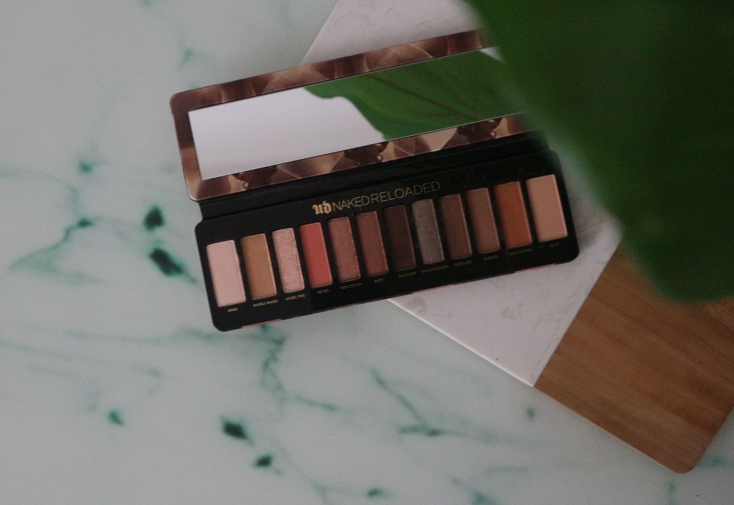 URBAN DECAY NAKED RELOADED EYESHADOW PALETTE REVIEW | BEAUTY