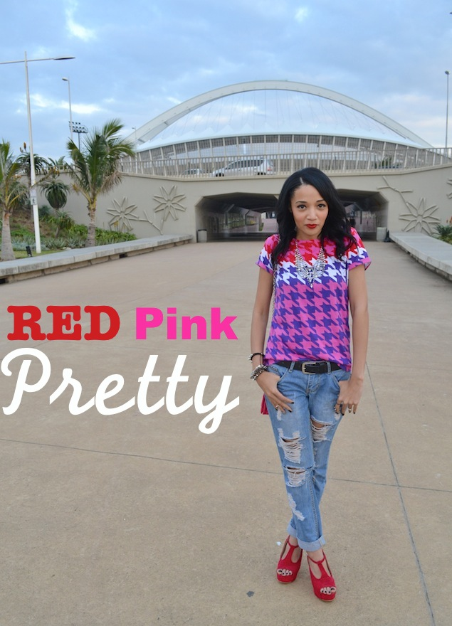 That RED PINK Pretty OOTD
