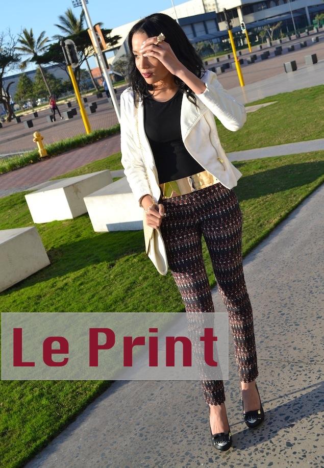 Le Print OOTD
