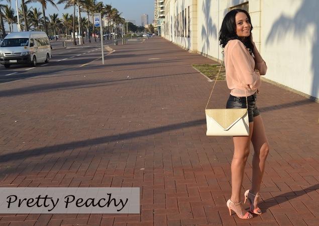Pretty Peachy OOTD