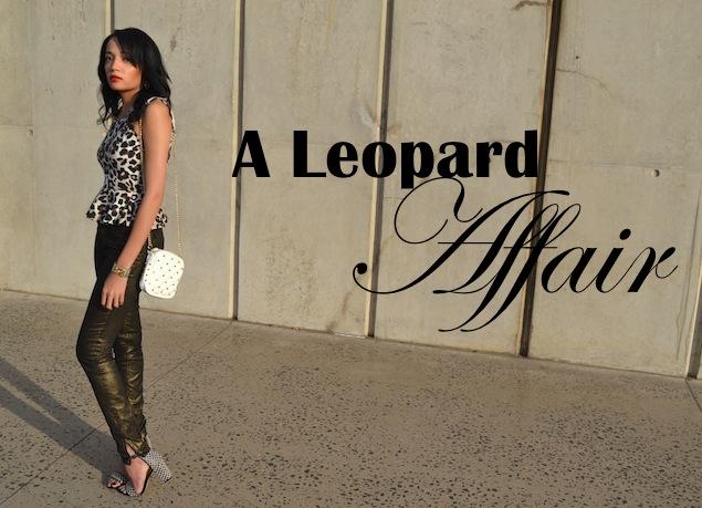 A Leopard Affair OOTD