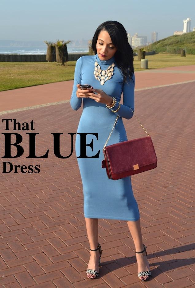 That BLUE Dress {OOTD}