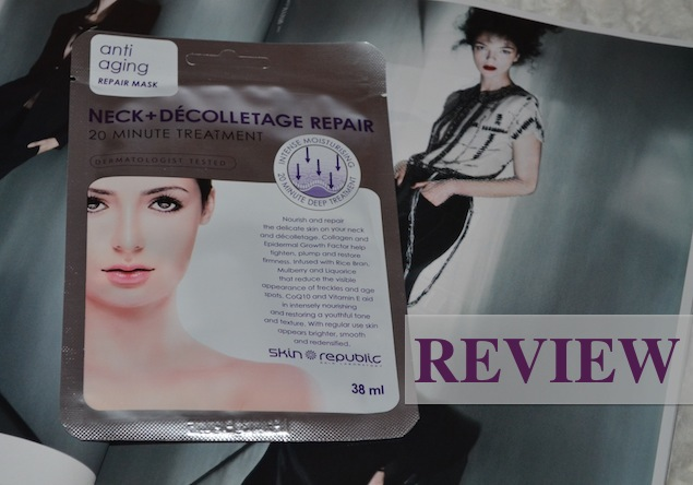 Beauty Review: Skin Republic Neck & Decolletage Repair