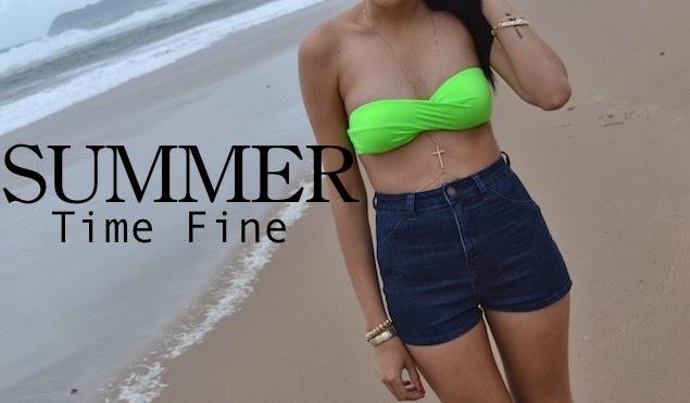 SUMMER-Time Fine { Beach Day OOTD}