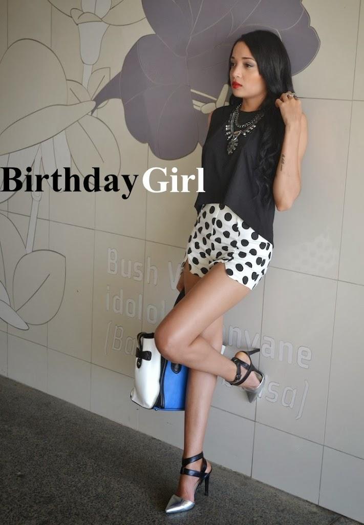 Birthday Girl {Monochrome Monday OOTD}